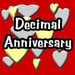Decimal Anniversary - A Romantic New Celebration of Your Relationship